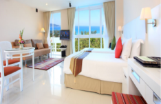 Отель Andaman Beach Suites