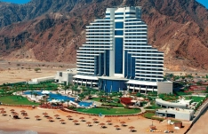 Отель Le Meridien Al Aqah Beach Resort
