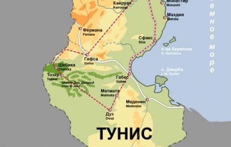 Туры в Тунис из Мурманска от 35 800 Горящие путевки цены