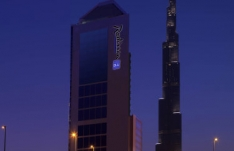 Дубай, Radisson Blu Hotel Dubai DownTown